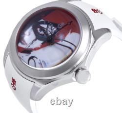 CORUM Bubble Joker/HARLEY Limited RARE White STRAP NWT $5000