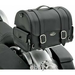 Gepäcktasche Hecktasche Harley Chopper Suzuki Saddlemen Drifter Ex Kunstleder