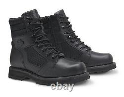 HARLEY-DAVIDSON FOOTWEAR Men's Lensfield Leather Motorcycle Riding Boots D96204