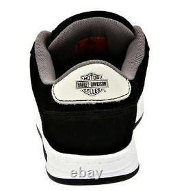 HARLEY-DAVIDSON FOOTWEAR Men's Static Steel Toe Black Suede Work Shoes D93027