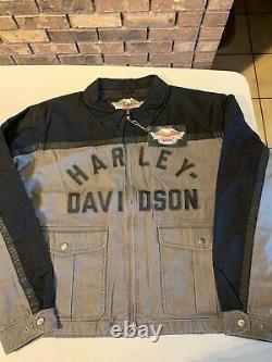HARLEY-DAVIDSON TRIBUTE JACKET BRAND NEW OLD STOCK(NOS) 97498-05VM/022L size XXL