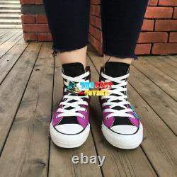 HARLEY QUINN dc comic hand painted shoes zapatos pintados scarpe