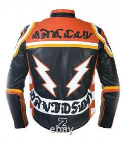 HDMM Mickey Rourke Jacket Harley Davidson And The Marlboro Man Biker Jacket