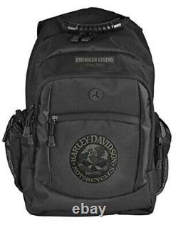 Harley-Davidson 3-D Willie-G Skull Classic Camo Backpack Black Bag BP3025S