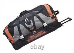 Harley-Davidson 32 Inch XL Super Organized Duffel, Wheeled Bag 99632-RUST/BLK