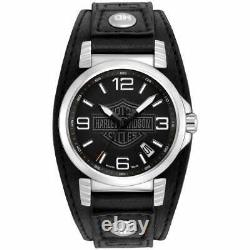 Harley Davidson 76B163 Men's Strap Wristwatch