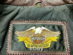 Harley Davidson 95th Anniversary leather jacket XL New