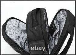 Harley-Davidson Black Extra Padded 9 Zipper Pocket Quilted Backpack 99319-BLACK