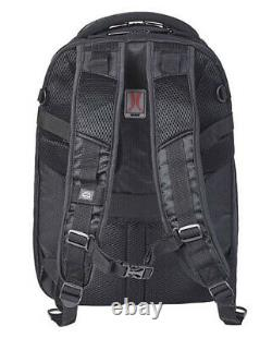 Harley-Davidson Black Renegade II USB Backpack with Hide-Away Rain Cover 99207