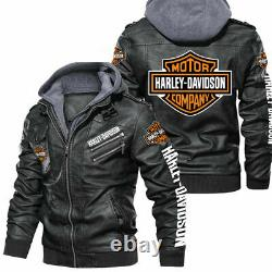 Harley-Davidson Fau. X Leather Jacket, So Cool-So Unique for Gift