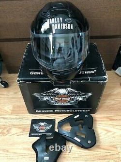 Harley Davidson HD Modular Motorcycle Helmet Gloss Black 98363-11VM XXL