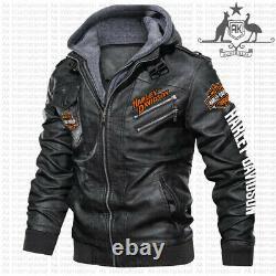 Harley-Davidson LEATHER JACKET, BEST GIFT, NEW JACKET- SO COOL- HALLOWEEN