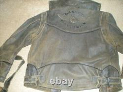 Harley Davidson Leather Billings complete set New without tags