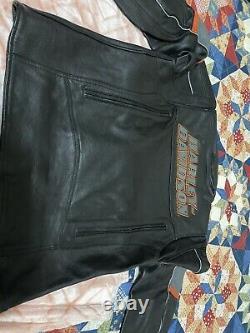 Harley Davidson Men Incinerator Leather Jacket 2XL