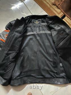 Harley Davidson Men Incinerator Leather Jacket Xl