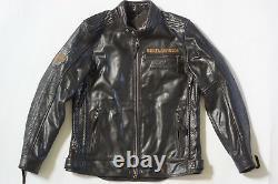 Harley Davidson Men's 115th Anniversary Eagle B&S Leather Jacket 3XLT 98000-18VM
