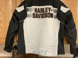 Harley-Davidson Men's 2XL Colorblock Windale Jacket 97112-20VM NEW
