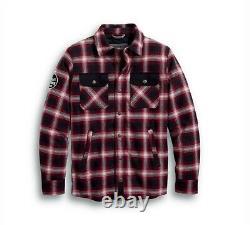 Harley-Davidson Men's Arterial Abrasion Resistant Riding Shirt Jacket 98124-20EM