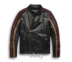 Harley-Davidson Men's Arterial Leather Jacket 98001-20VM