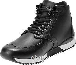 Harley-Davidson Men's Cadden Black Leather Sneakers D93546