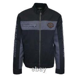 Harley-Davidson Men's Copperblock Canvas Full Zip Jacket S01