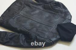Harley Davidson Men's Generator Black Leather Jacket 3 in 1 Hoodie 97135-13VM XL