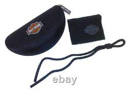Harley-Davidson Men's Jumbo Sunglasses, Silver Flash Lens / Black Frame HDJUM04