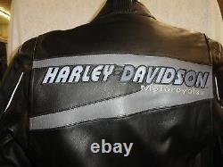Harley Davidson Men's Medium Vanguard Leather Jacket