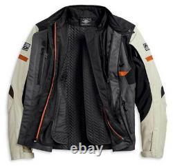 Harley-Davidson Men's Polyester 3 season riding jacket 3XL 97103-20VM NEW
