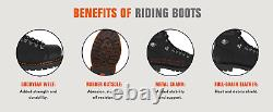 Harley-Davidson Men's Ruskin 5-In Motorcycle Boots D93472