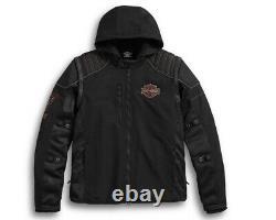 Harley-Davidson Men's Sully 3-in-1 Convertible Mesh Jacket 98176-17VM