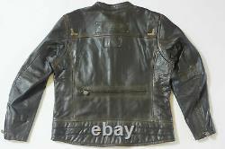 Harley Davidson Men's Willie G Limited Brown Leather Jacket 97097-16VM L 2XL