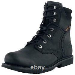 Harley Davidson Mens Darnel CE Black Motorcycle Biker Boots Size 7-11