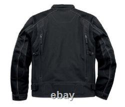 Harley-Davidson Mens Fortify Waterproof Reflective Riding Jacket 98099-16VM Sm
