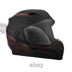 Harley-Davidson Mens Motopolis B15 Matte Black Full Face Helmet 98153-18VX
