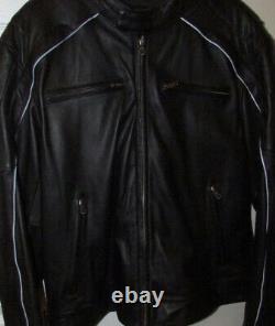 Harley Davidson Mens Willie G Skull Leather Jacket Size Medium 98099-07VM