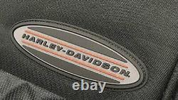 Harley-Davidson On The Road Megapack Sculpted Rubber Handle Backpack BP4503S