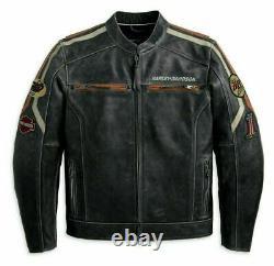 Harley Davidson Real Leather Jacket For Men