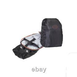 Harley-Davidson Renegade II USB Backpack with Hide-Away Rain Cover 99207-RST/BLK