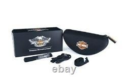 Harley-Davidson Sonnenbrille Wiley X JET PPZ Motorradbrille HDJET09