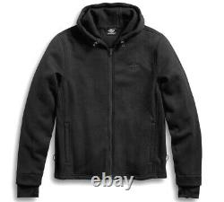 Harley-Davidson Willie G 3-in-1 ALL WEATHER Mens Motorcycle Jacket (L Large)