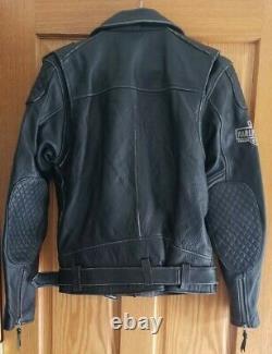 Harley DavidsonGenuine Riding GearLeather Zip JacketSkullMen's M NEW