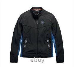 Harley-davidson Men's Logo Badge Soft Shell Casual Jacket 97505-19vm XL
