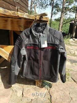 Harley davidson jacket Endrino black size Large L new with tags
