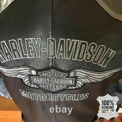 Limited EditionHarley Davidson Reflective Leather Jacket Black