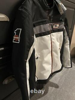 Mens Authentic Harley Davidson Pile Driver Jacket