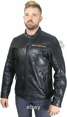 Mens Harley Davidson 115th Anniversary Limited Edition Leather Jacket