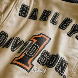 Mens High Quality Racing Leather Jacket Harley Davidson Riding Jacket