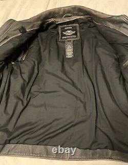 Mens harley davidson leather jacket