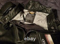 NEW Harley Davidson FXRG Leather Riding Pants Men's 34 97200-03VM/3400 Overpant